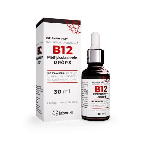 WITAMINA B12 DROPS LABORELL